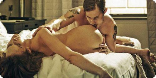 В нимфоманке настоящие сцены секса